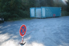 Container Ankunft